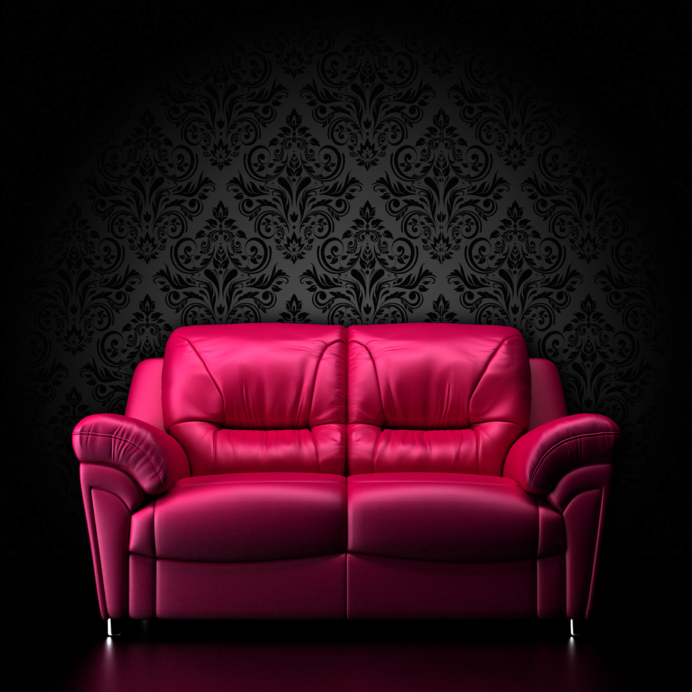 red-leather-sofa